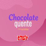 chocolate quente com carinhas